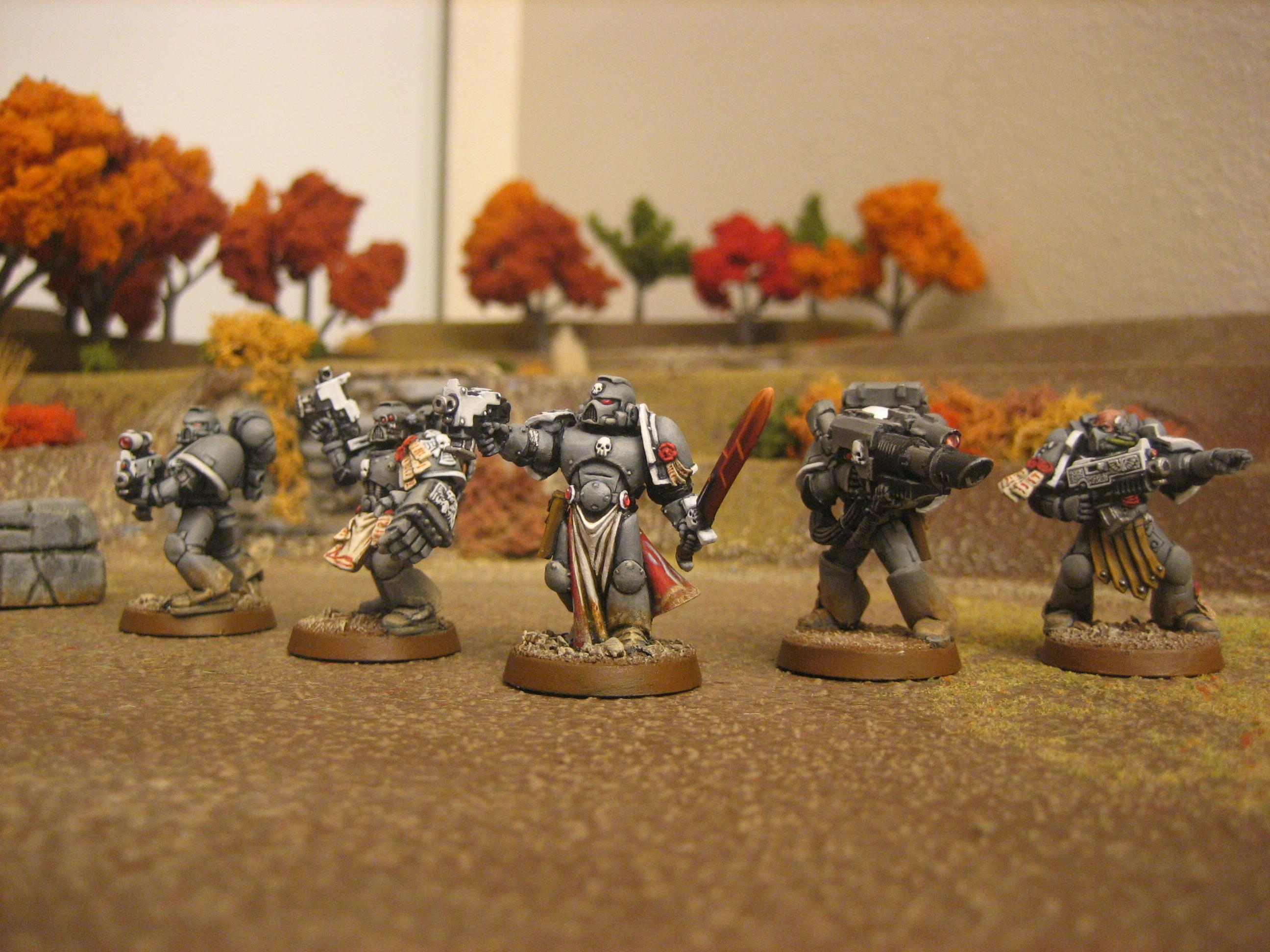 Conversion, Emperor's Champion, Power Weapon, Space Marines, Warhammer 40,000, Weathered