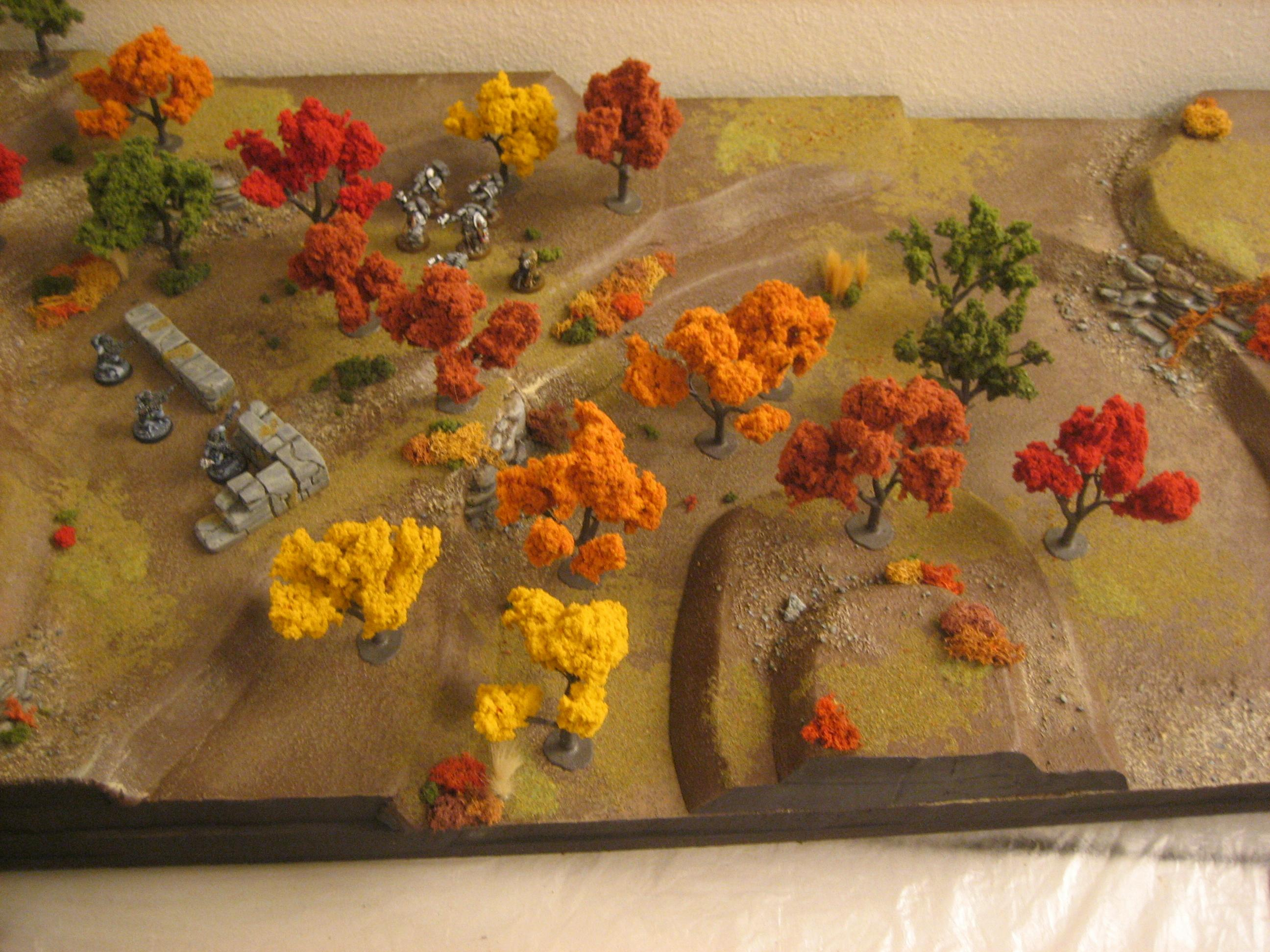 Autumn, Scratch Build, Terrain, Warhammer 40,000