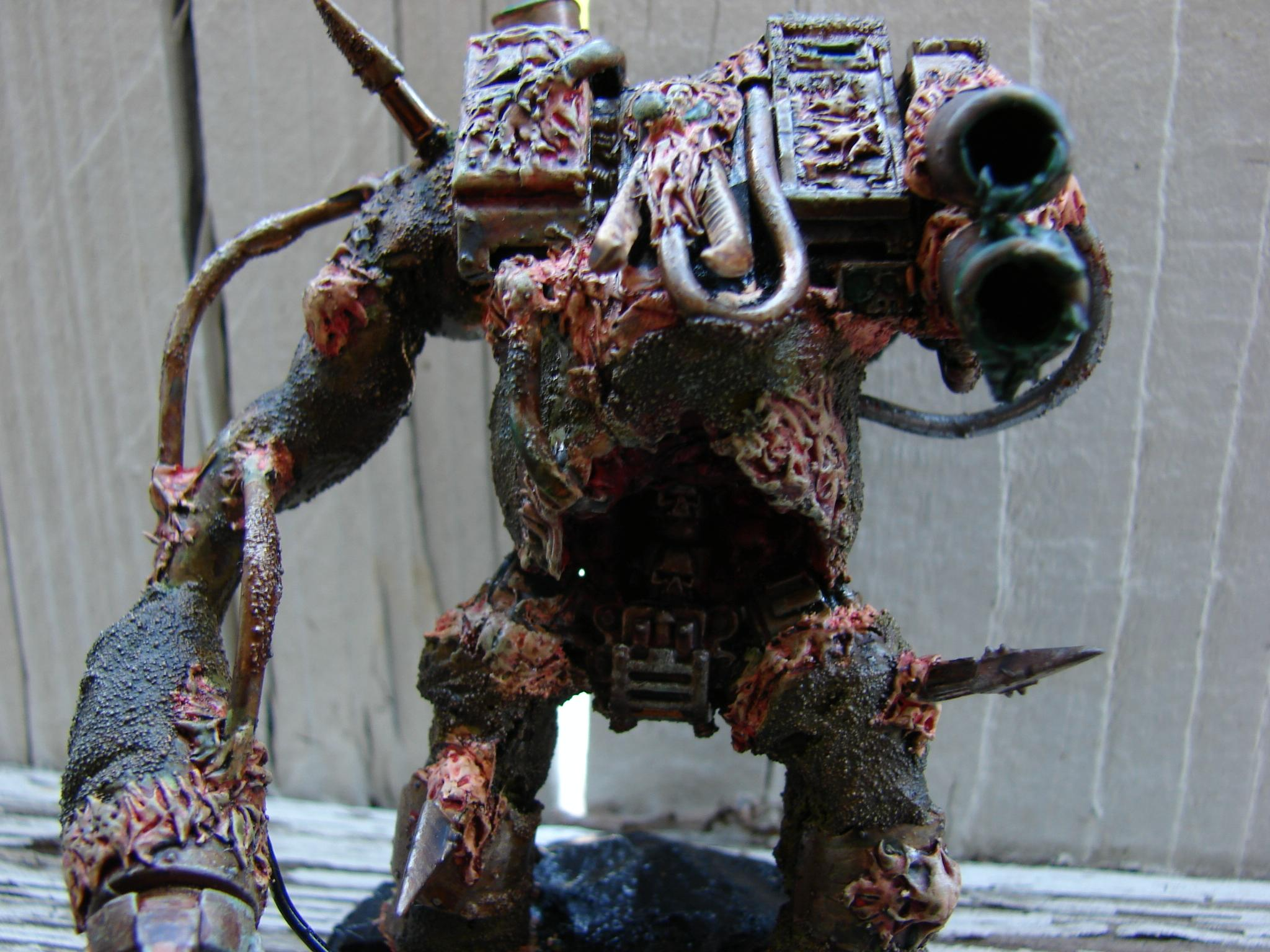 Chaos Space Marines, Conversion, Dreadnought, Nurgle, Warhammer 40,000