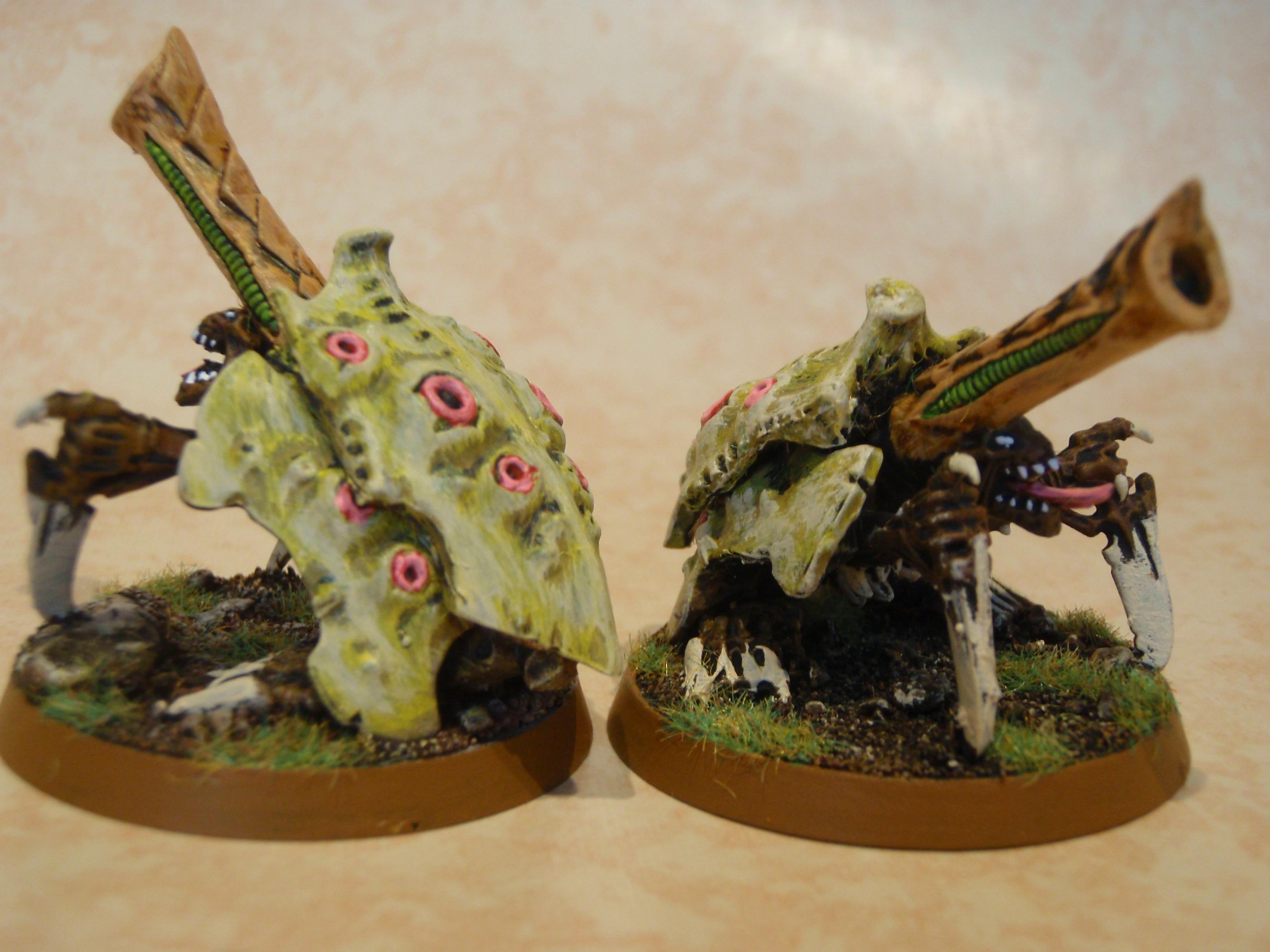 Biovore, Finished, Kitbash, Painted, Tyranids