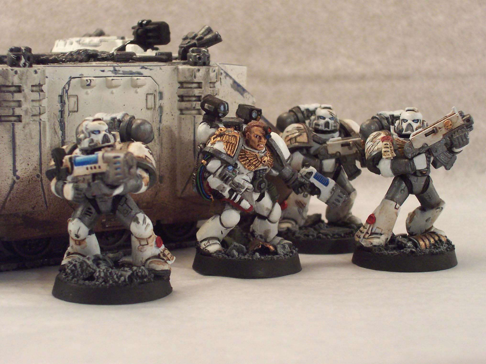 Apothecary, Celestial Lions, Plasma, Space Marines, Warhammer 40,000, Weathered