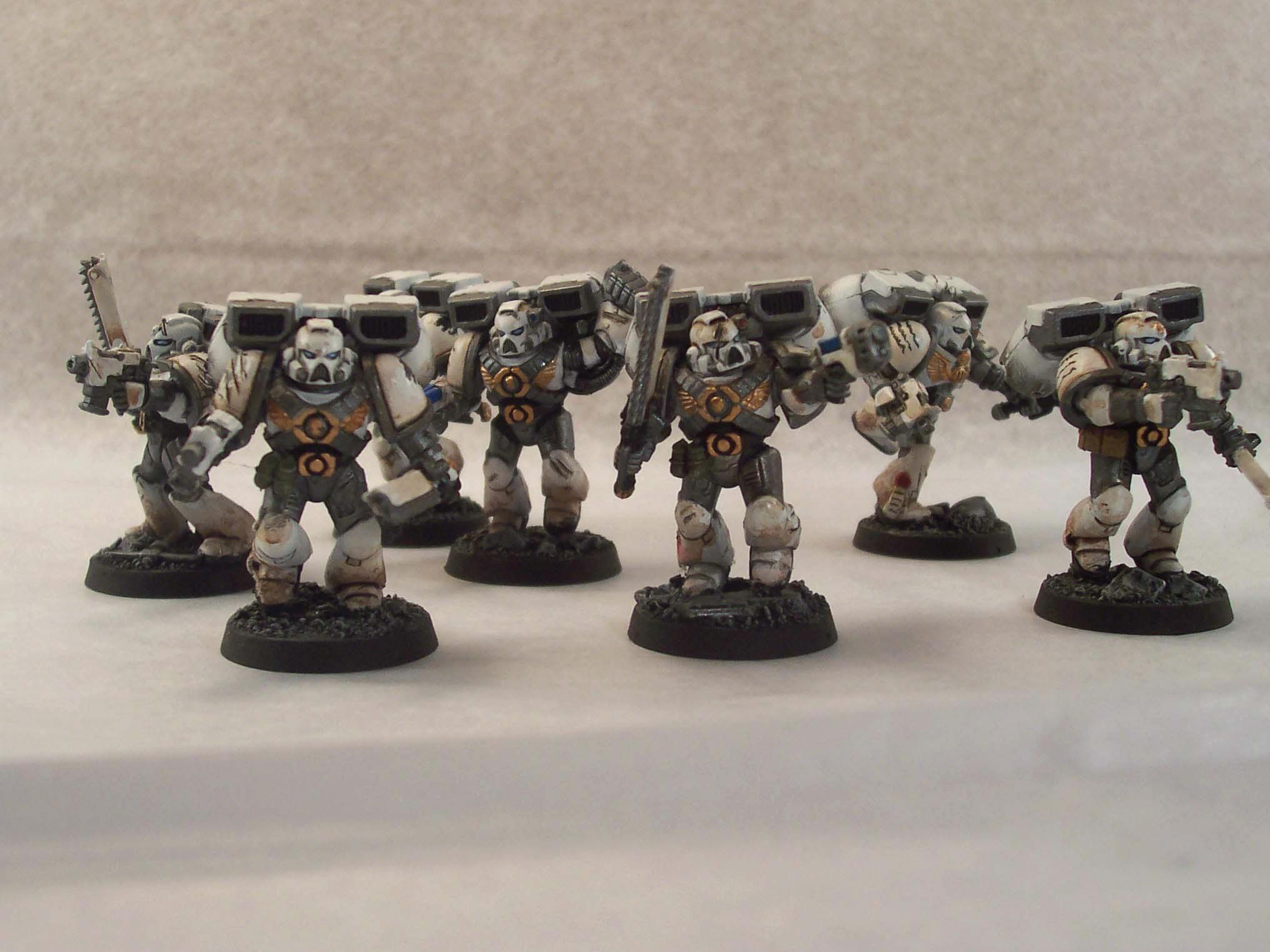 Assault Marines, Celestial Lions, Jump Pack, Space Marines, Warhammer 40,000, Weathered