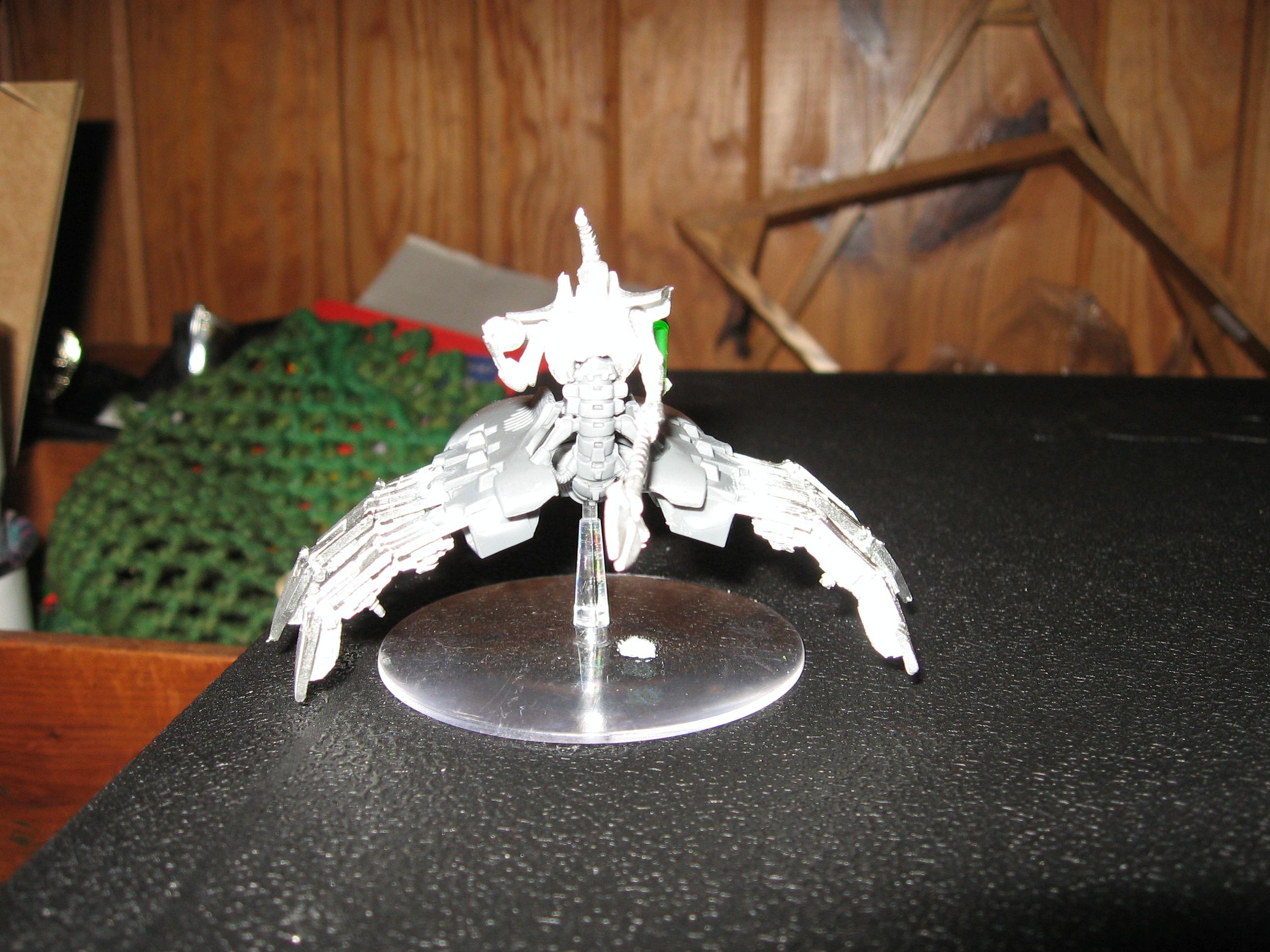 Conversion, Destroyer, Necron Lord, Necrons, Poor Picture Quality, Warhammer 40,000, Work In Progress