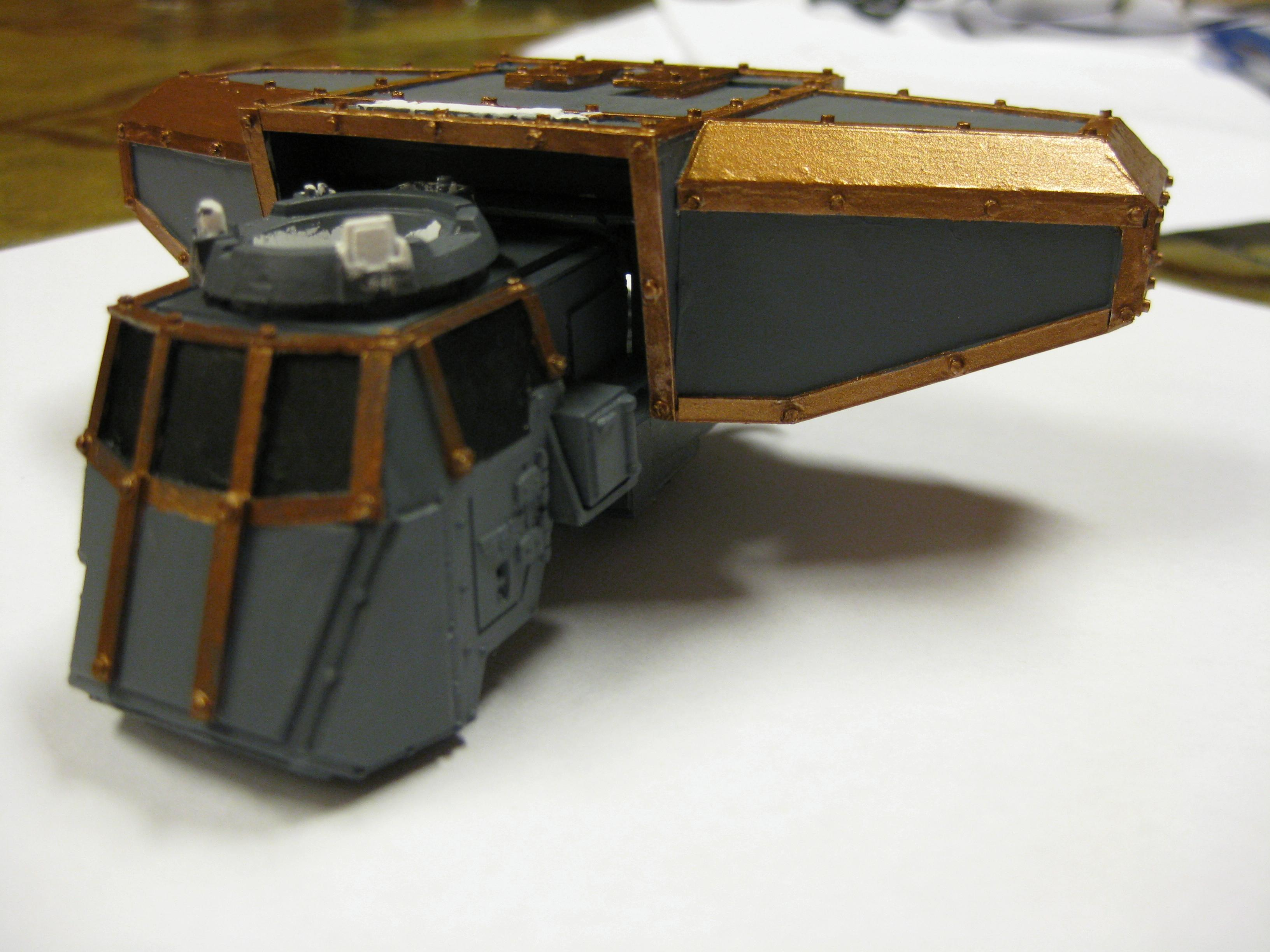 Another shot of the carapace