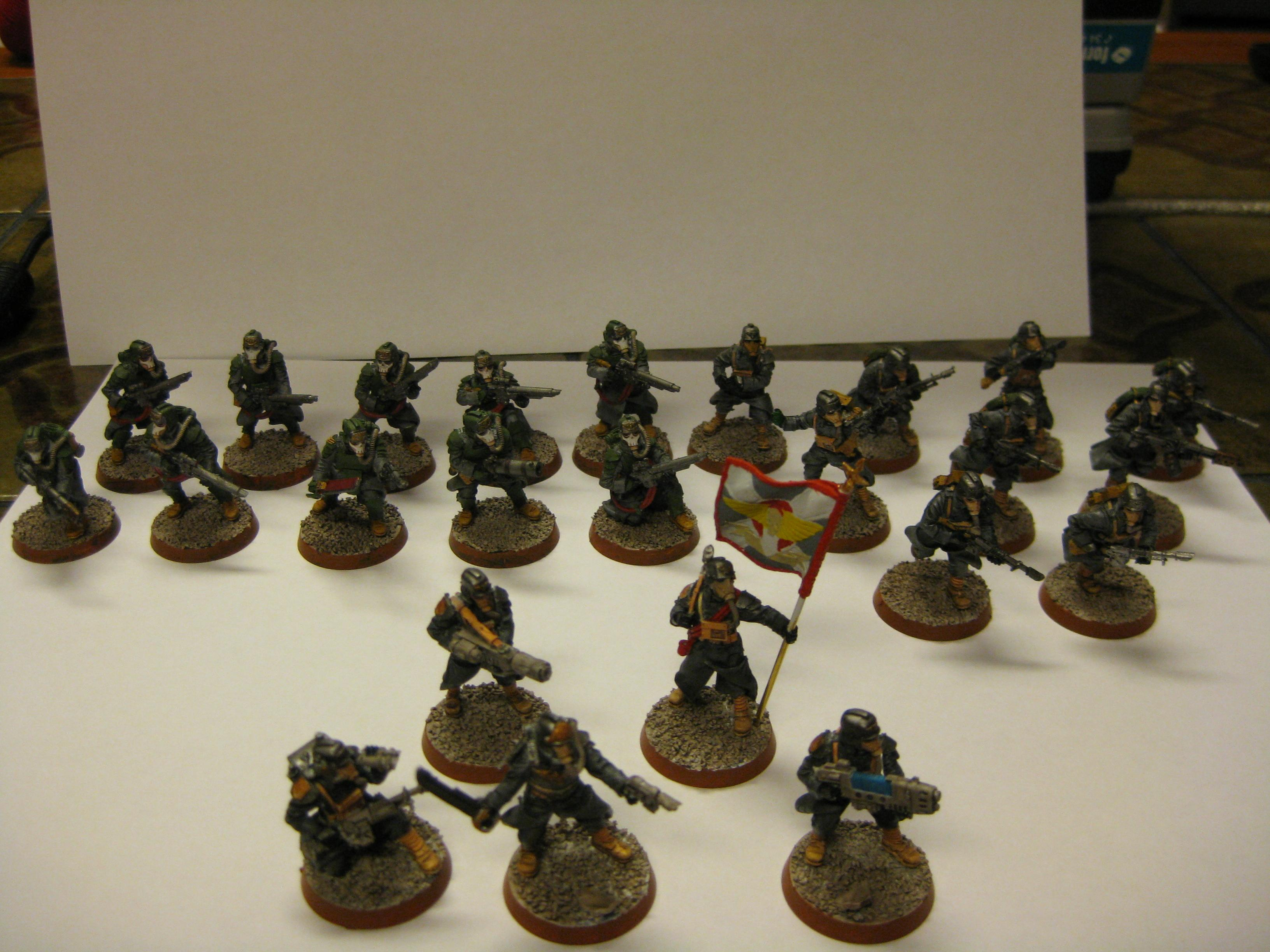 Death Korps of Krieg, Imperial Guard, Infantry