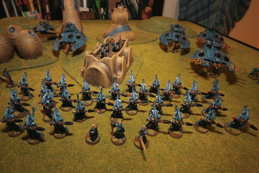 Army, Eldar, Grav Tank, Iyanden, Warhammer 40,000, Wraithguard