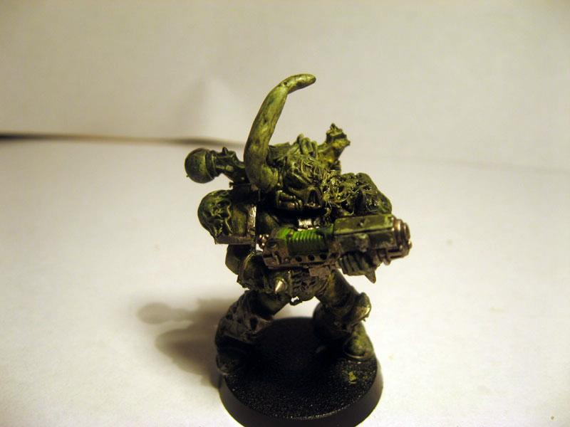 Chaos Space Marines, Death Guard, Nurgle, Plague Marines, Plasma