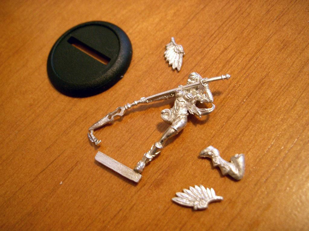 Anima Tactics, Unpainted, Winged, Work In Progress