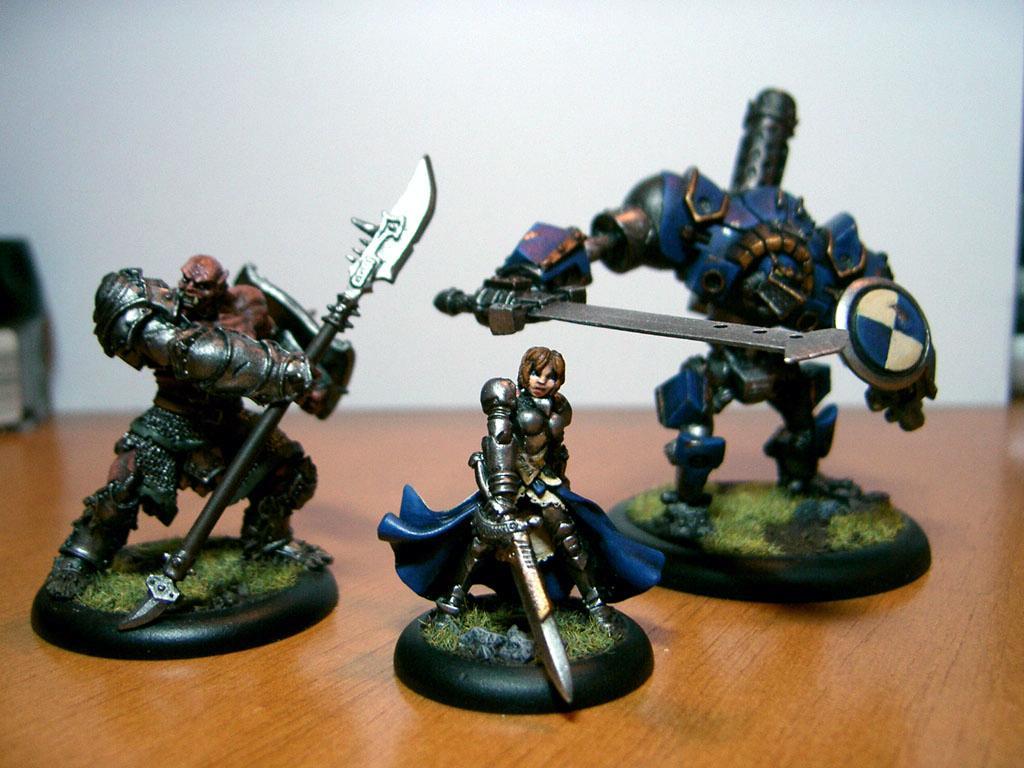 Ashlynn D'elise, Caster, Female, Mercenary, Nomad, Ogrun Bokur, Warjack, Warmachine
