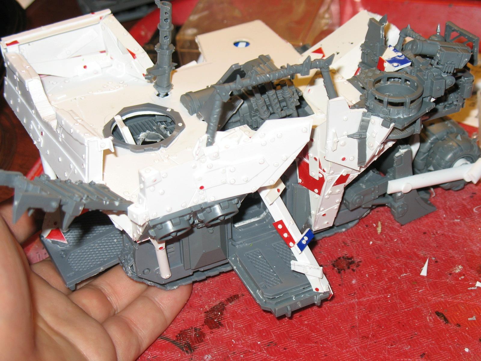 Ork Battle Waggon Wip - 9