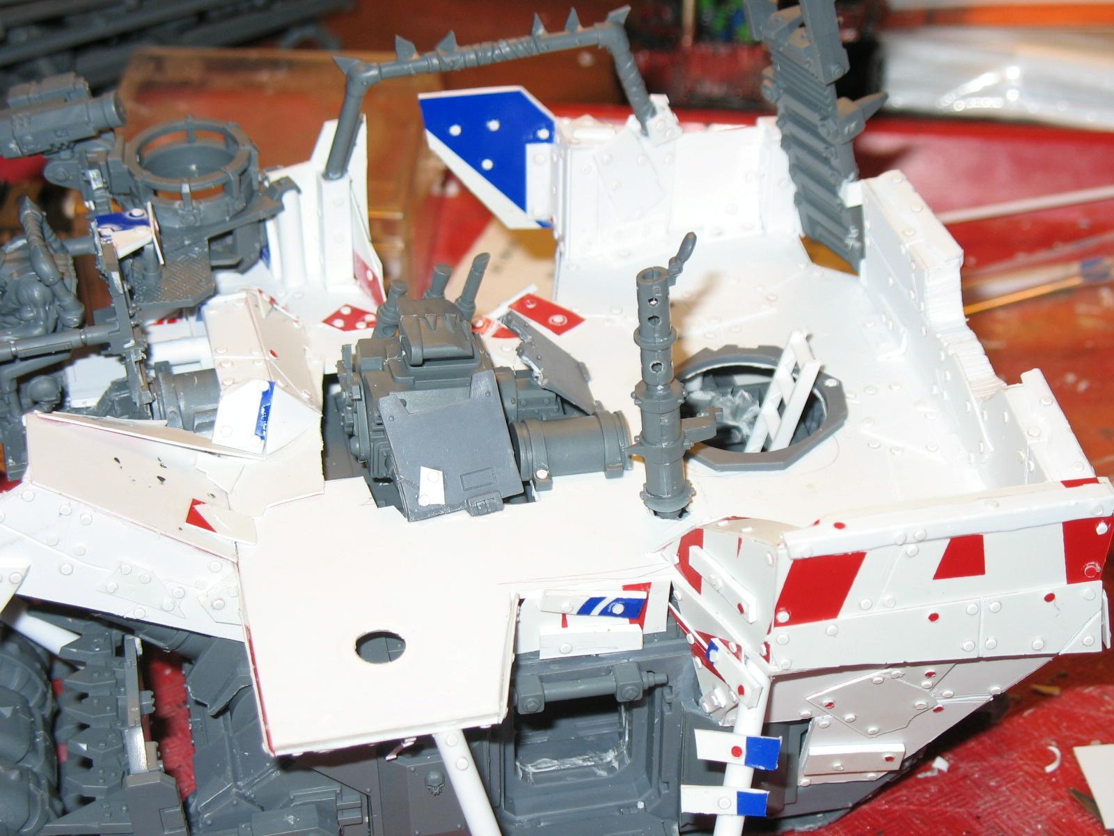 Ork Battle Waggon Wip - 10