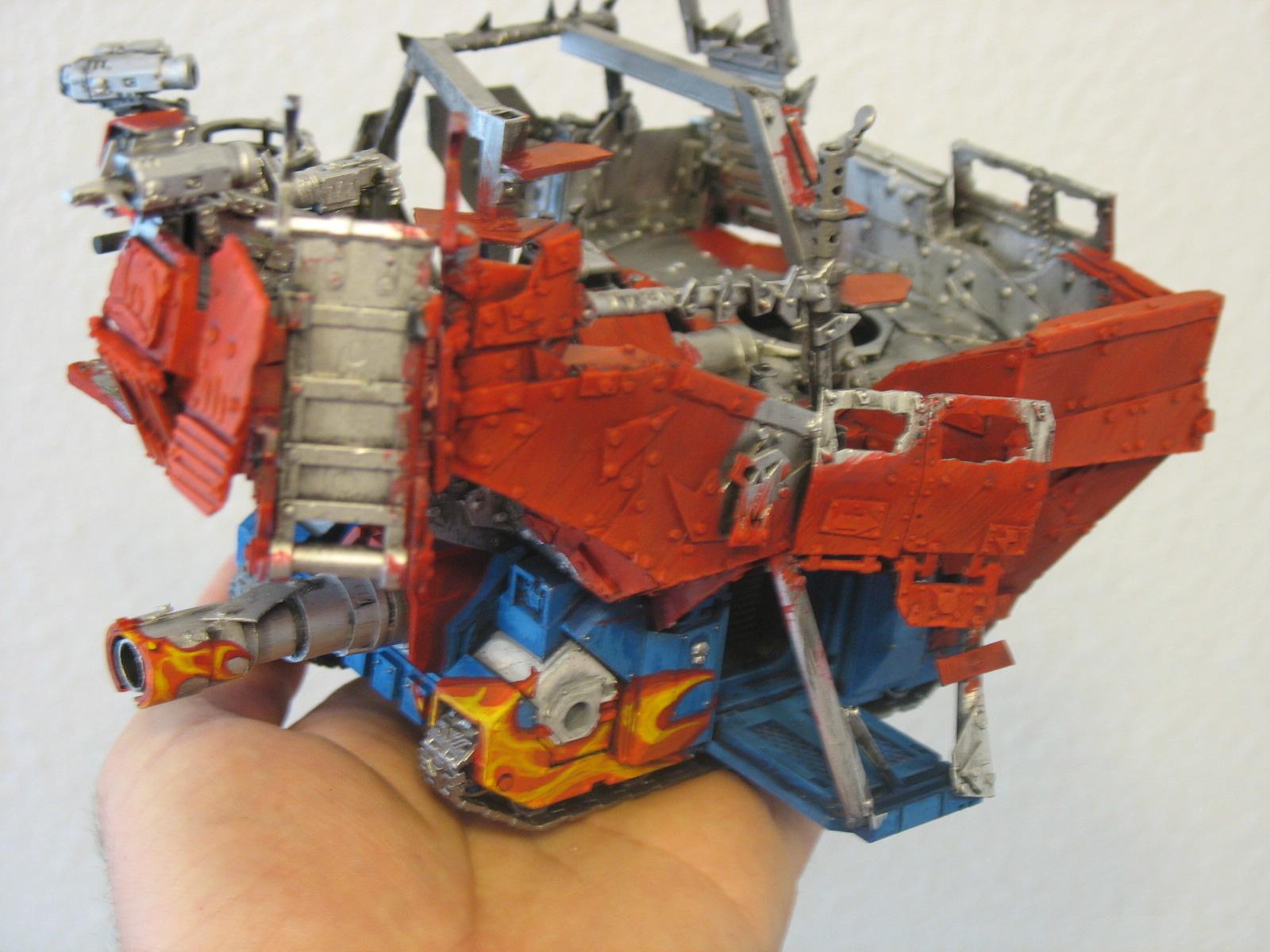 Unknown, Battlewagon Conversion - Red 1