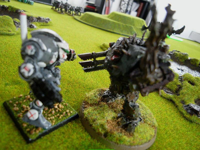 Battle Report, Dreadnought, Game In-progress