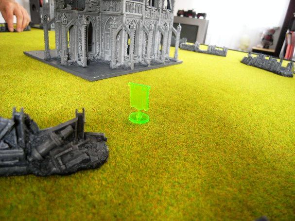 Battle Report, objective marker 2