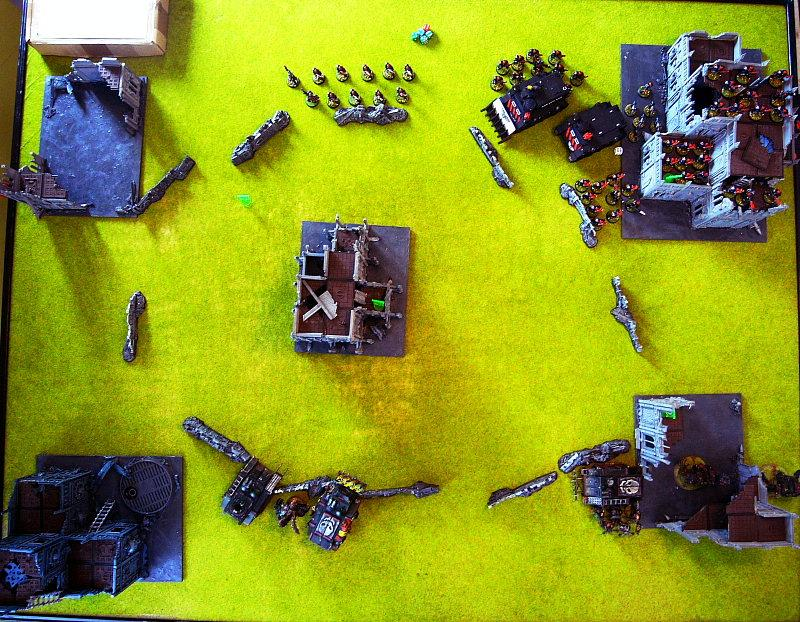 Battle Report, setup