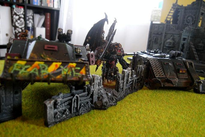 Battle Report, PMs in rhinos ready to roll