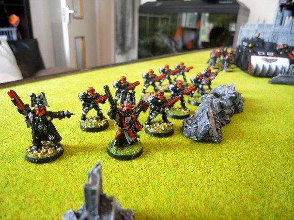 Adeptus Arbites, Battle Report