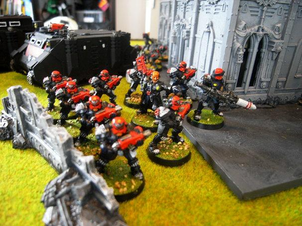 Battle Report, arbites ready for a riot?