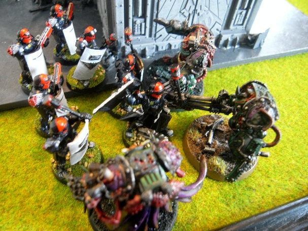 Battle Report, terminators get destroyed
