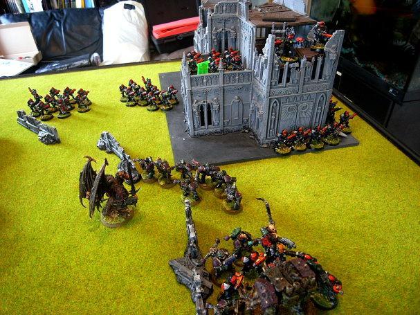 Battle Report, Board, Table Top, Terrain