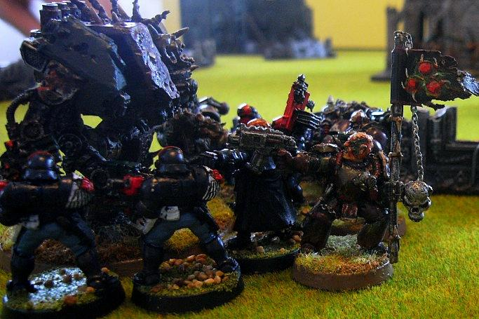 Battle Report, finnishing the arbites scouts off