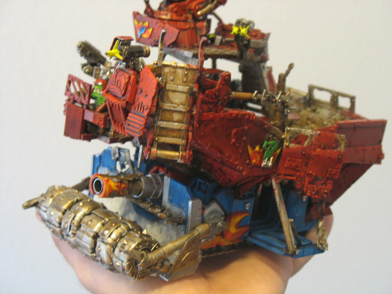 Orks, Converted Battle Wagon Assembled LF