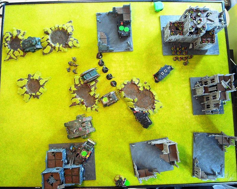 Battle Report, Overhead, Warhammer 40,000