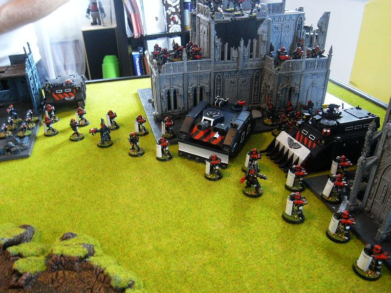 Adeptus Arbites, Army, Battle Report, Warhammer 40,000, Witch Hunters