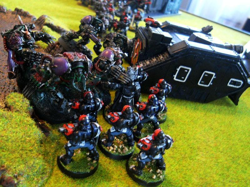 Adeptus Arbites, Battle Report, Chaos Space Marines, Close Combat, Warhammer 40,000