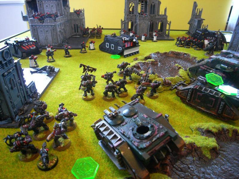 Adeptus Arbites, Battle Report, Chaos Space Marines, Warhammer 40,000