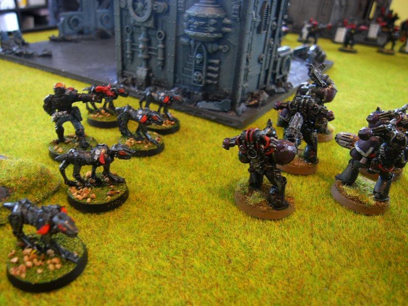 Battle Report, cybermastiffs attack