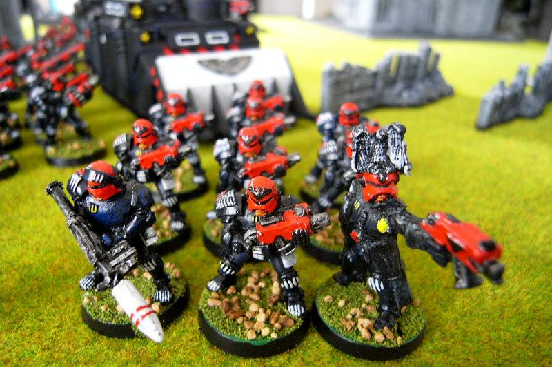 Battle Report, arbites with bolters