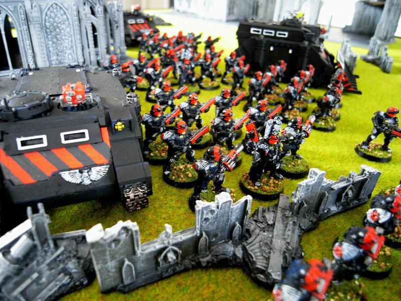 Adeptus Arbites, Army, Battle Report, Witch Hunters