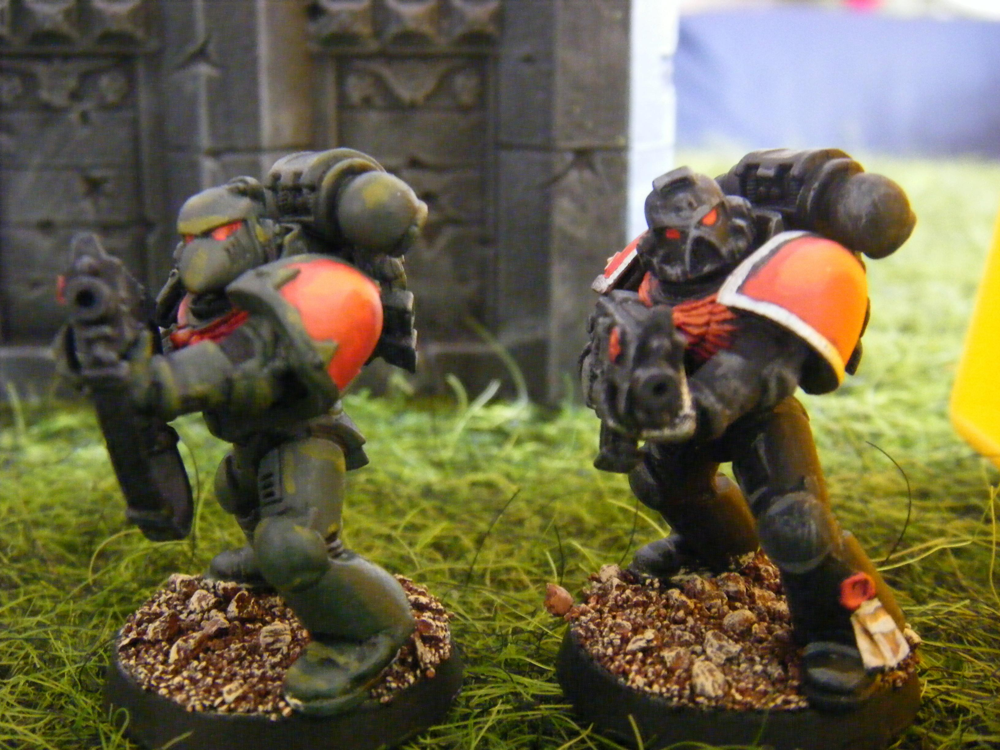 Dark Angels, Space Marines