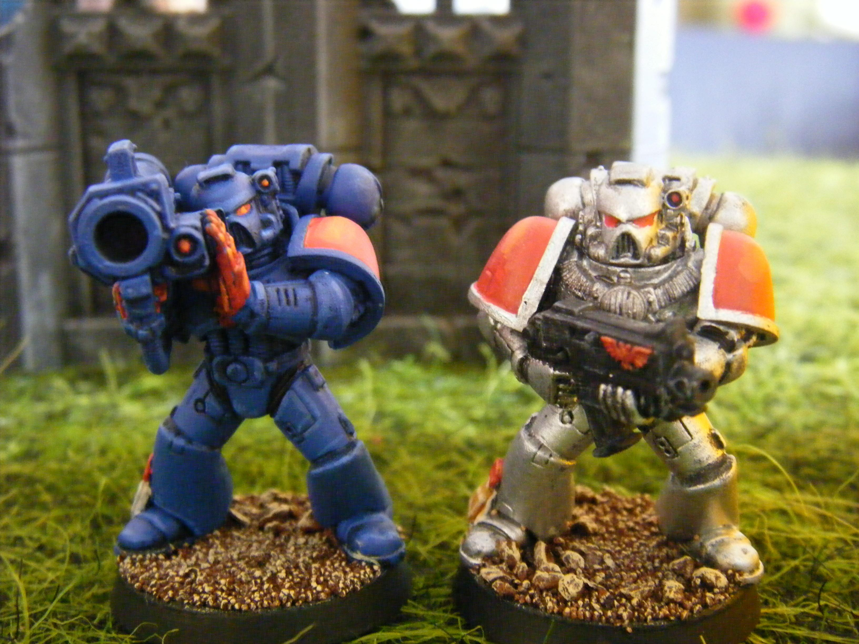 Space Marines, Crimson Fist, Doom Eagle