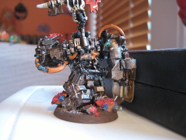 Mega Armor, Orks, Power Klaw, Warboss, Warhammer 40,000