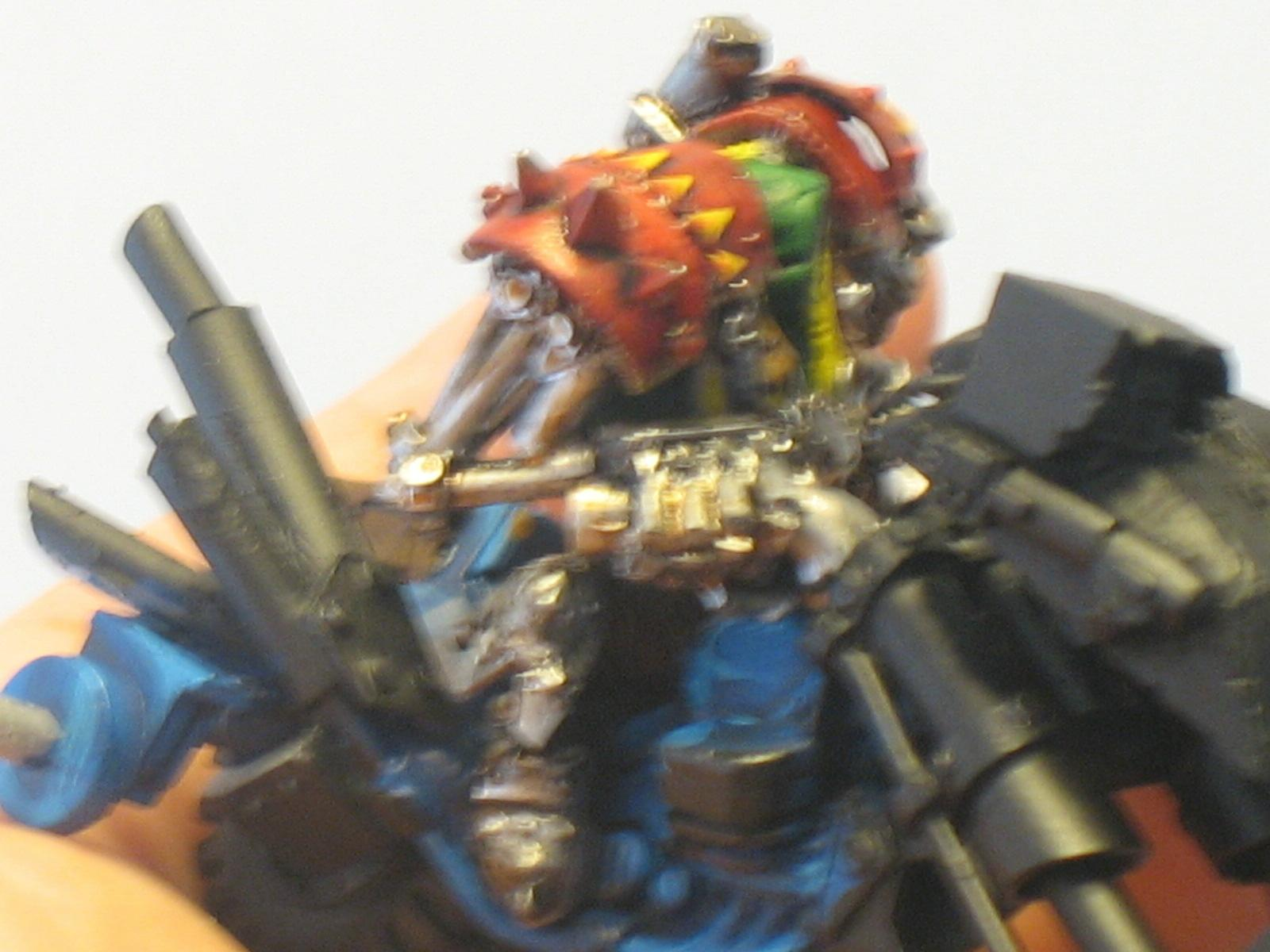 Bike, Orks, Warboss, Warhammer 40,000