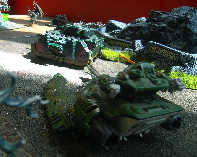 Battle Report, falcon takes aim