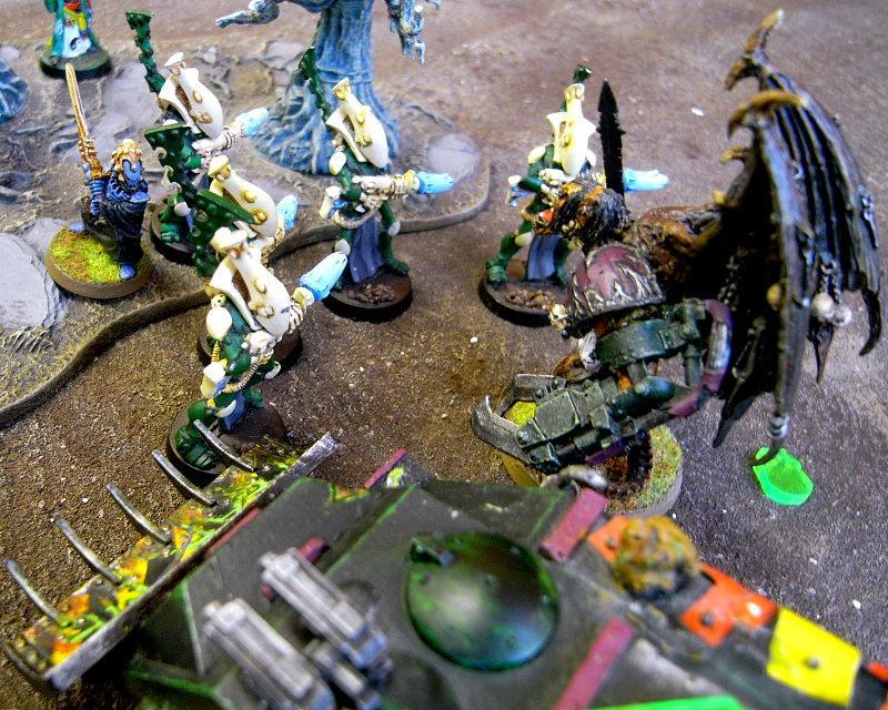 Battle Report, wraiths take down Daemon Prince..