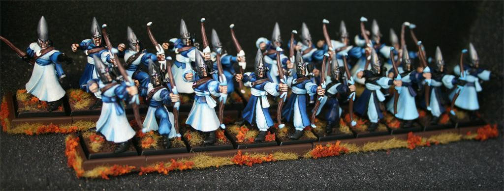 Archers, Elves, Warhammer Fantasy