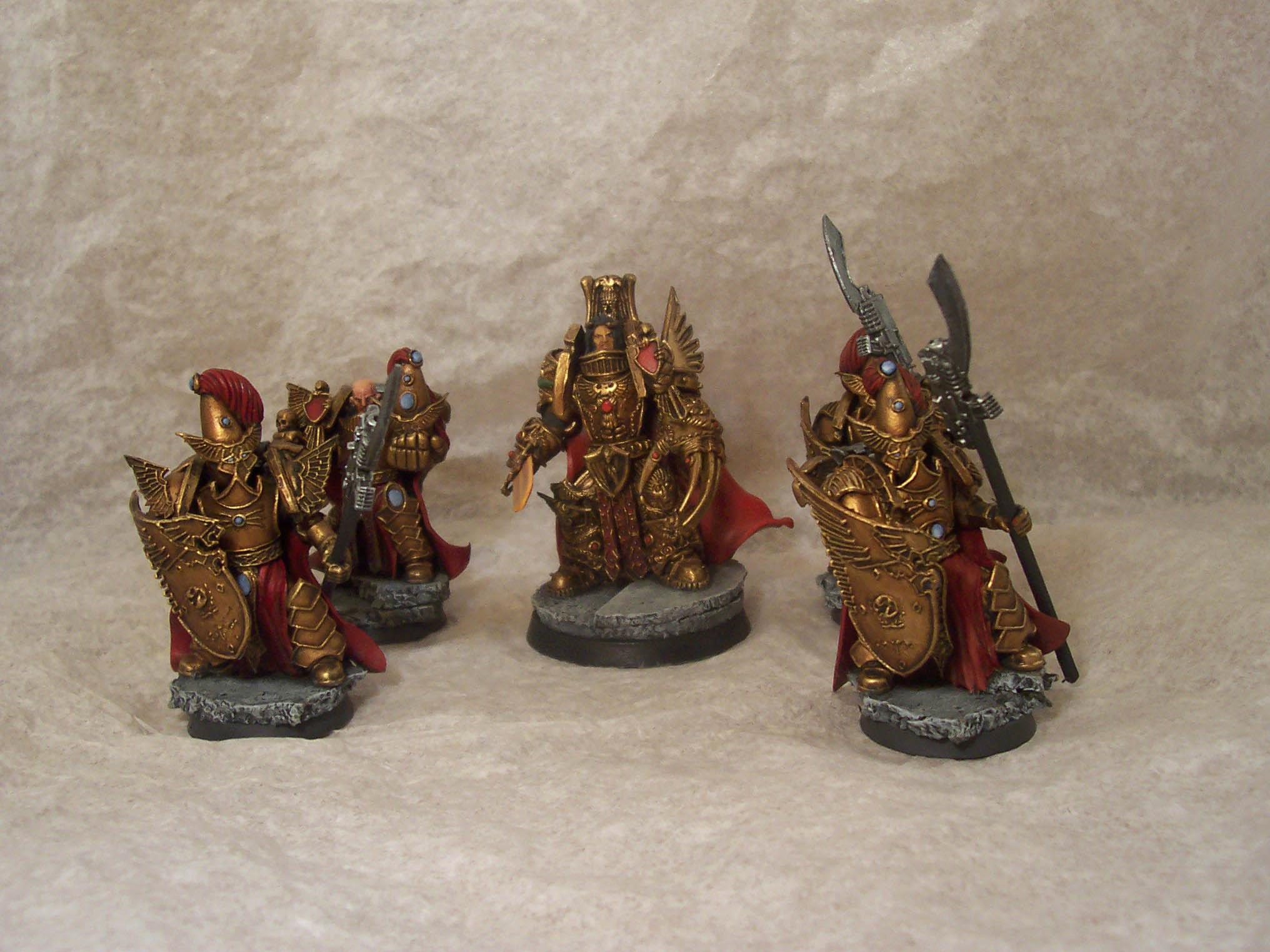 Conversion, Custodes, Custom, Emperor, Hero, Mankind, Space Marines, Warhammer 40,000