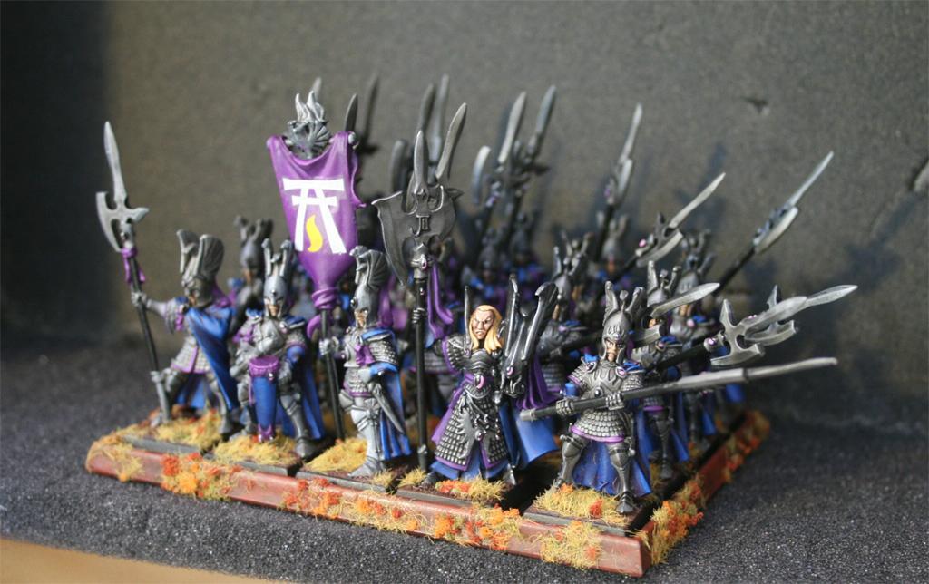 High Elves, Phoenix Guard, Warhammer Fantasy