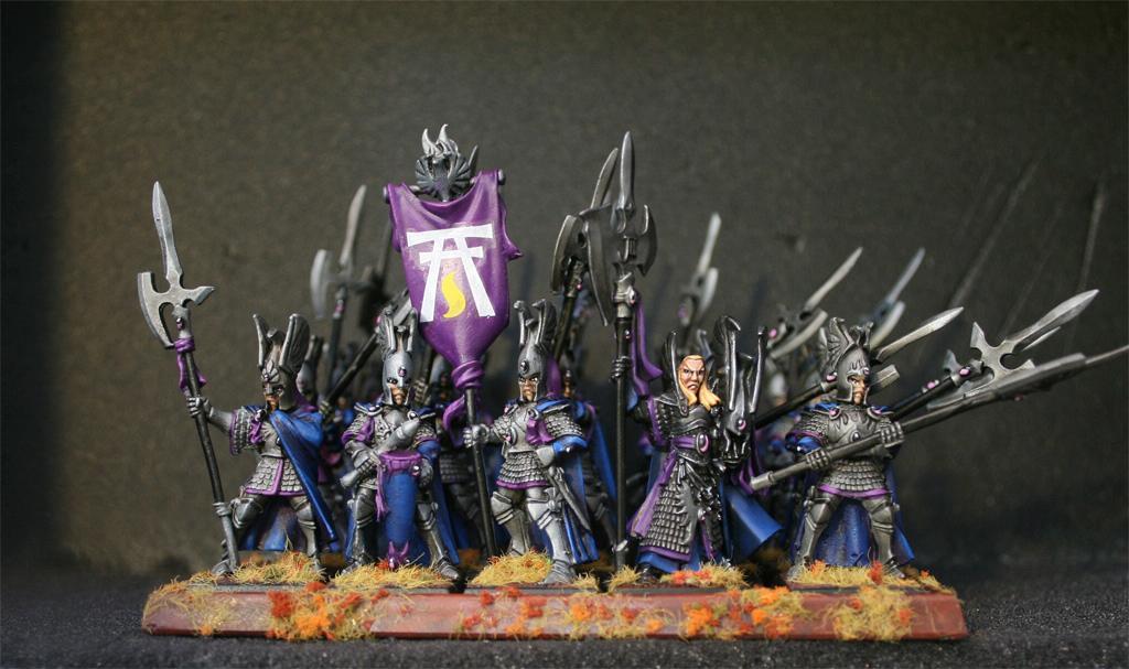 High Elves, Non-Metallic Metal, Phoenix Guard, Warhammer Fantasy