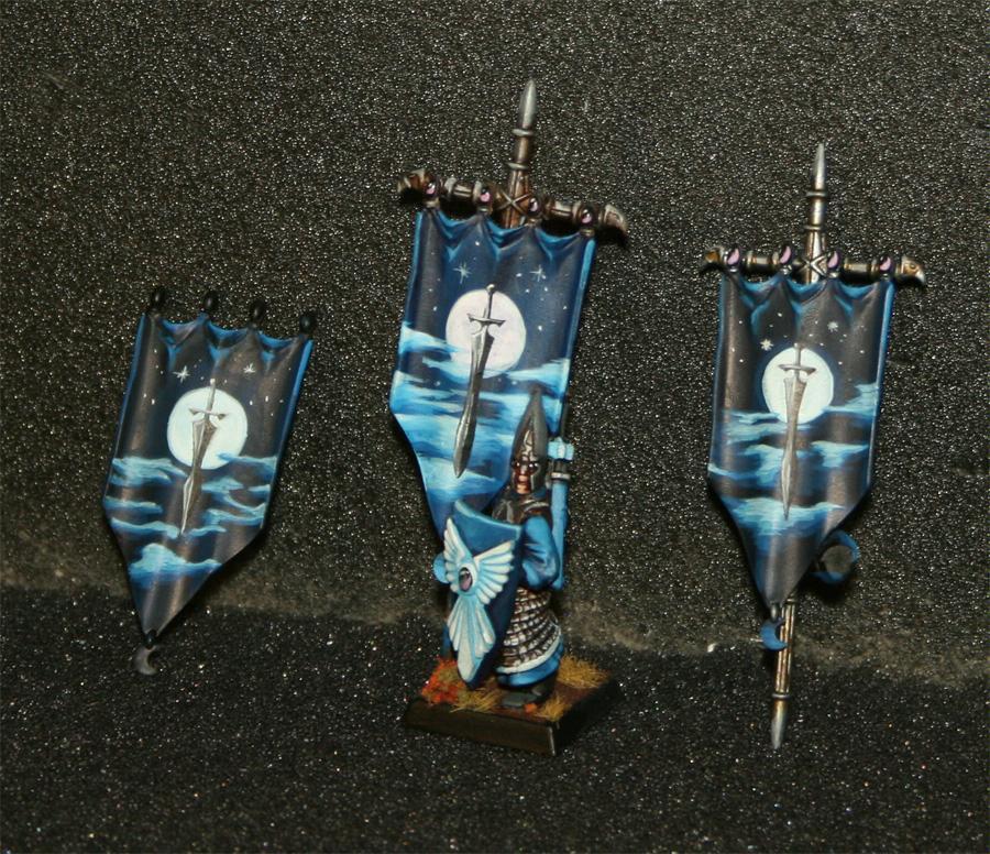 Banner, Freehand, High Elves, Warhammer Fantasy