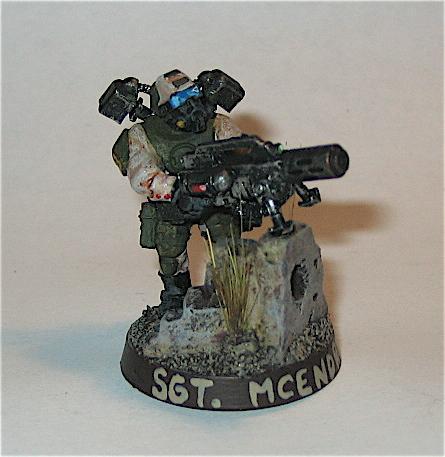 Conversion, Elysian, Imperial Guard, Infantry, Meltagun, Warhammer 40,000