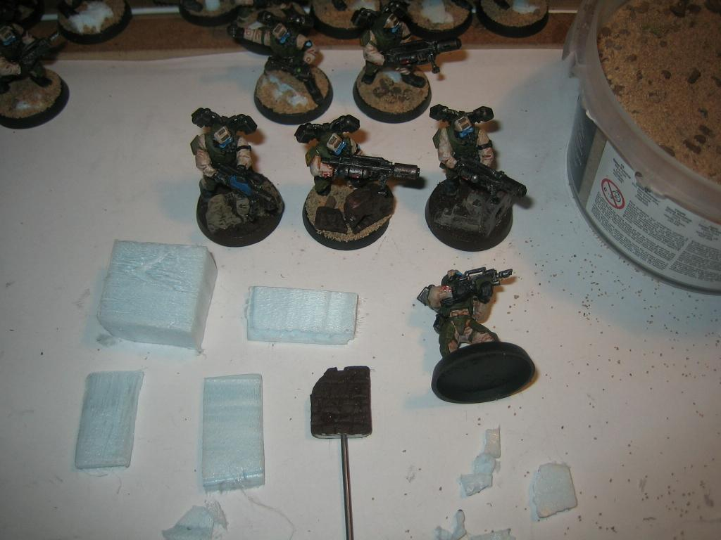 Base, Conversion, Elysian, Imperial Guard, Infantry, Warhammer 40,000