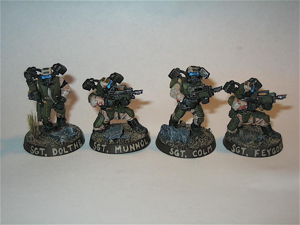 Conversion, Drop Troops, Elysian, Imperial Guard, Infantry, Warhammer 40,000