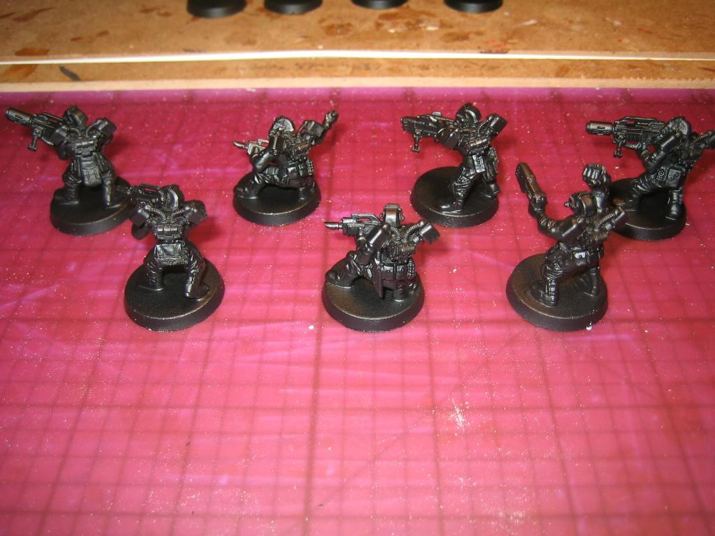 Conversion, Drop Troops, Elysian, Imperial Guard, Infantry, Warhammer 40,000, Work In Progress