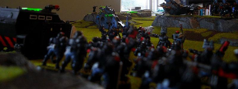Battle Report, Arbite LOS