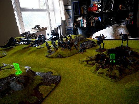Battle Report, eldar deployment 2